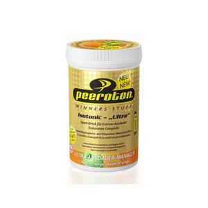 Peeroton Isotonic Ultra Drink 300g Anwendung - Ausdauer/Kraft, Konsistenz - Pulver, Einnahmeempfehlung - vor/während Training, Geschmack - Johannisbeere-Zitrone,