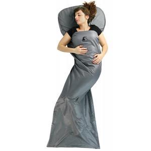 Alvivo Schlafsack Milben Inlet Decke grau Schlafsacklänge - 206 bis 215 cm, Schlafsackverwendung - Hütte, Schlafsackfarbe - Grau,