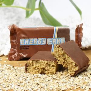 Energy Cake Schokolade 125g Geschmack - Schokolade, Anwendung - Ausdauer/Kraft, Konsistenz - Riegel, Einnahmeempfehlung - vor/während Training,