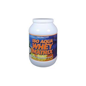 Natural Power Iso Aqua whey Matrix Dose mit 1800g Südfruchtmix (Pina Colada) Anwendung - Gesundheit/Wellness, Einnahmeempfehlung - nach Training, Geschmack - Südfrucht (Pina Colada), Konsistenz - Pulver,