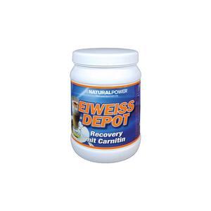 Natural Power Eiweiss Depot Dose mit Carnitin 400g Latte Macchiato Anwendung - Gesundheit/Wellness, Einnahmeempfehlung - nach Training, Geschmack - Latte-Macchiato, Konsistenz - Pulver,