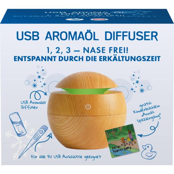 KINDER-ÖL USB Aroma-Öl Diffuser mit modernen Ultraschall-Vernebelungsverfahren