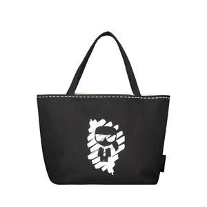 Graphic print shopper bag