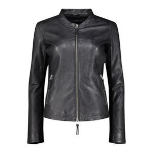 Double breasted biker jacket