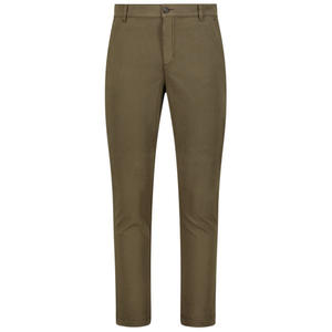 High-waist straight fit trousers