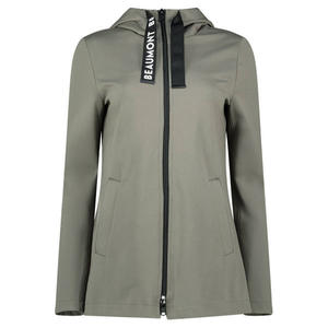 Double jersey hooded jacket