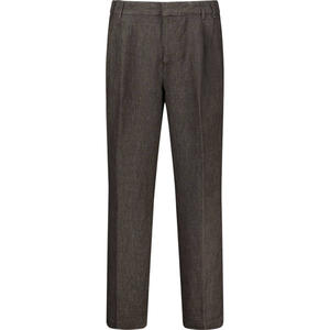 Concealed fastening tailored trousers