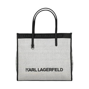 Typography canvas tote bag