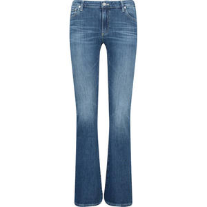 Faded bootcut jeans