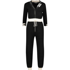 Slim-Fit-Jumpsuit mit Kordelzugtaille