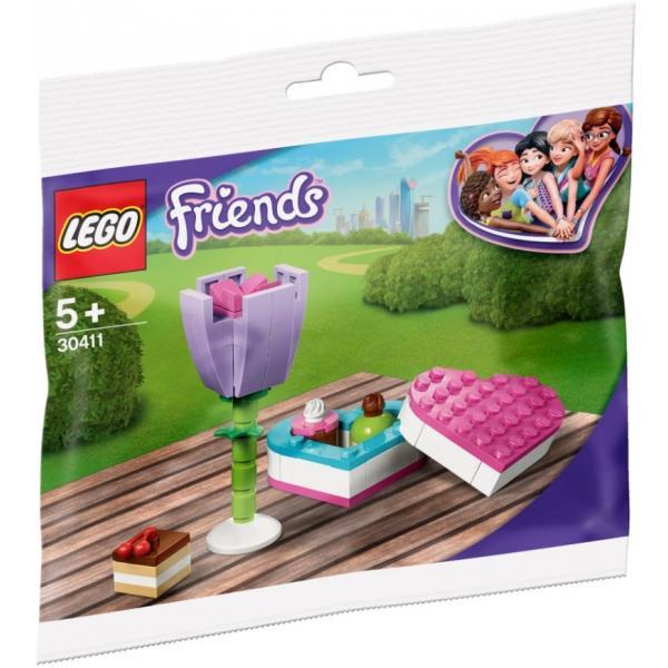 LEGO® Friends 30411 Pralinenschachtel & Blume