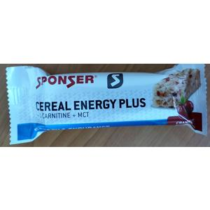 Sponser Cereal Energy Plus Riegel (40gr) Cranberry 5 Stk. Verpackung