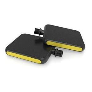 MOTO Reflex Pedal schwarz/gelb