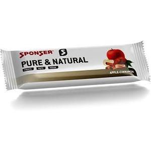 SPONSER Pure&Natural 5x Riegel Apfel-Zimt 50 gr Riegel (Vegan)