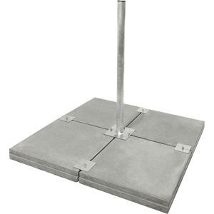 Profi Flachdach Balkonständer XL 8-fach inkl. Dachschutzmatte