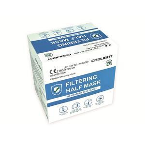 100x FFP2 NR Atemschutzmasken - echte CE Zertifizierung