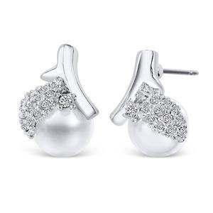 Cherry Earrings mit Kristallen von Swarovski®