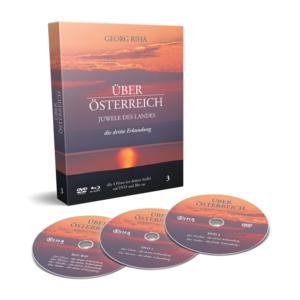 Über Österreich - Staffel 3 | Juwele des Landes | Georg Riha | DVD + Blu-Ray Box