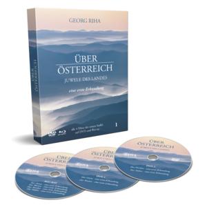 Über Österreich - Staffel 1 | Juwele des Landes | Georg Riha | DVD + Blu-Ray Box