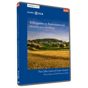 Kellergassen in Niederösterreich | Georg Riha | DVD NTSC Deutsch + Englisch