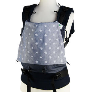 Buzzidil Babytrage Jeans Stars | Standard (3-36 Monate)