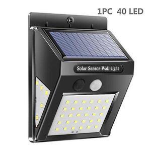 Solar Sensor LED Lampe mit 40 LED