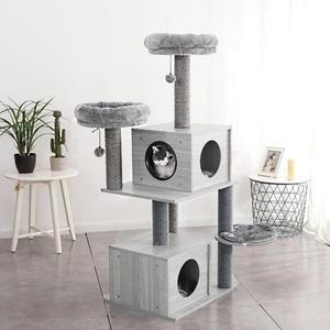 "KRATZBAUM ""KITTY"" Holzdesign - Höhe 141cm"