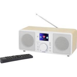 Renkforce RF-IRDAB-RETRO1 Internet, DAB+, UKW Tischradio AUX, Bluetooth®, Internetra