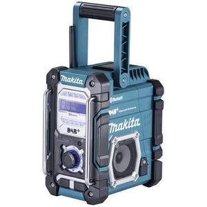 Makita DMR112 DAB+ Baustellenradio AUX, Bluetooth®, UKW, USB spritzwassergeschützt Türkis
