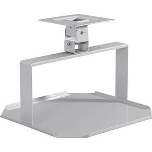 Medium 2042582 Beamer-Deckenhalterung Starr Boden-/Deckenabstand (max.): 25 cm Silber (matt)