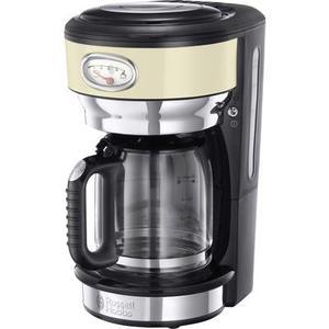 Russell Hobbs 21702-56 Kaffeemaschine Creme, Edelstahl Fassungsvermögen Tassen=10