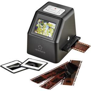 Renkforce DS100-5M Diascanner, Negativscanner 5 Mio. Pixel Digitalisierung ohne PC, Display
