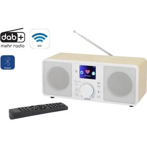 Internet Tischradio Renkforce RF-IRDAB-RETRO1 AUX, Bluetooth®, Internetradio, DAB+,
