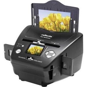 Reflecta 3in1 Scanner Diascanner, Fotoscanner, Negativscanner 1800 dpi Digitalisierung ohne PC