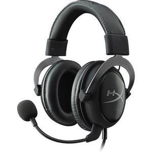 HyperX Cloud II Gaming Headset 3.5 mm Klinke schnurgebunden Over Ear Schwarz, Grau