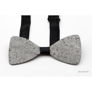 """Anzugsfliege aus echtem Schiefergestein """"Silver Gray"""""""