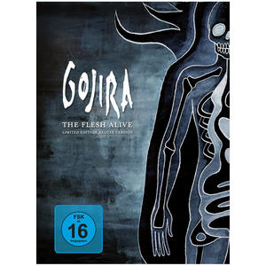 Gojira – The Flesh Alive – 2DVD & CD – Limited Edition Deluxe Version