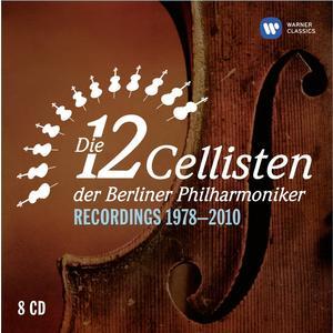 12 Cellisten der Berliner Philharmoniker - Recordings 1978-2010 - 8CD-Box