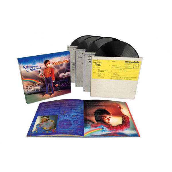 Marillion – Misplaced Childhood – Ltd. Edition 4LP Deluxe Format – Boxset