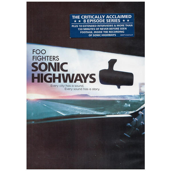 Foo Fighters – Sonic Highways – 4DVD