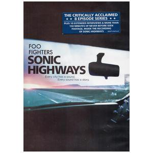 Foo Fighters – Sonic Highways – 4DVD