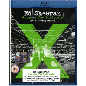 Ed Sheeran - X-Jumpers For Goalposts - Live At The Wembley Stadium