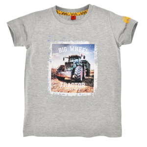 Bondi T-Shirt halbarm ´Big Wheel´ grey-melange 33124 Gr.86