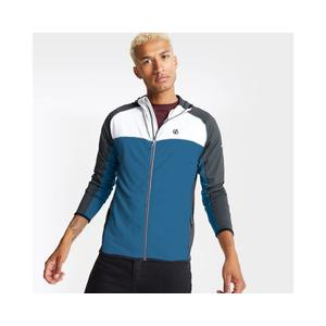 Ratified II Core Stretch-Midlayer Mit Kapuze Für Herren DML427 Blau-Weiß Gr.56