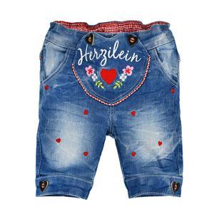 Baby Hose Jogg Denim Kniggerbocker blue denim 86444 / 113 Größe 74