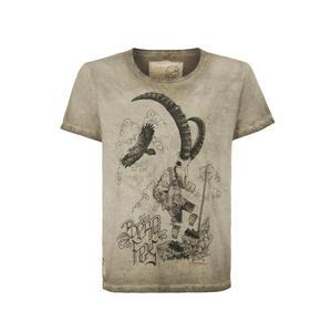 STOCKERPOINT Shirt Shirt Bergfex sand Größe L