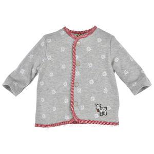 "BONDI Baby Trachtenjacke ""Edelweiß"" 93570"" Grau Gr. 68"