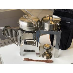 Gast MoKo mobiler outdoor Kocher - komplett Set