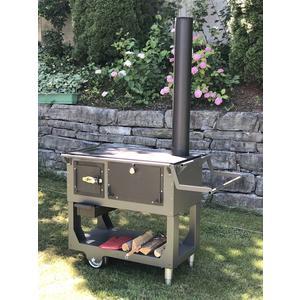 Fred Classic - der mobile Gartenherd