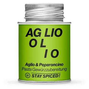 Stay Spiced! Aglio & Peperoncino Gewürzmischung, Dose 170ml